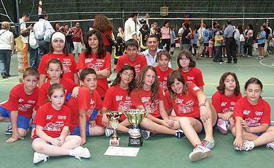 CSP Ipssar Volley Vieste campione trofeo Provinciale